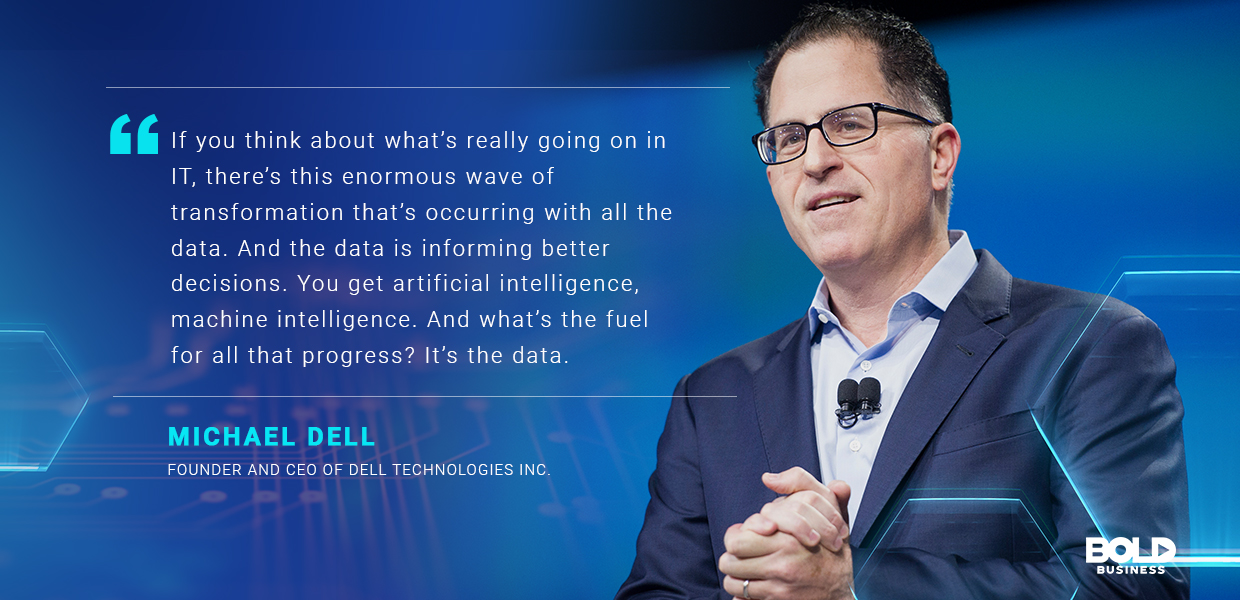 Dell Technologies Inc. is a giant in the PC industry, and will remain so as long as it focuses on the data.