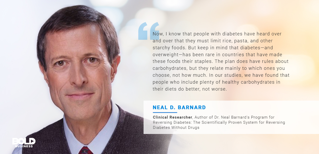 diabetes treatment, neal barnard quoted