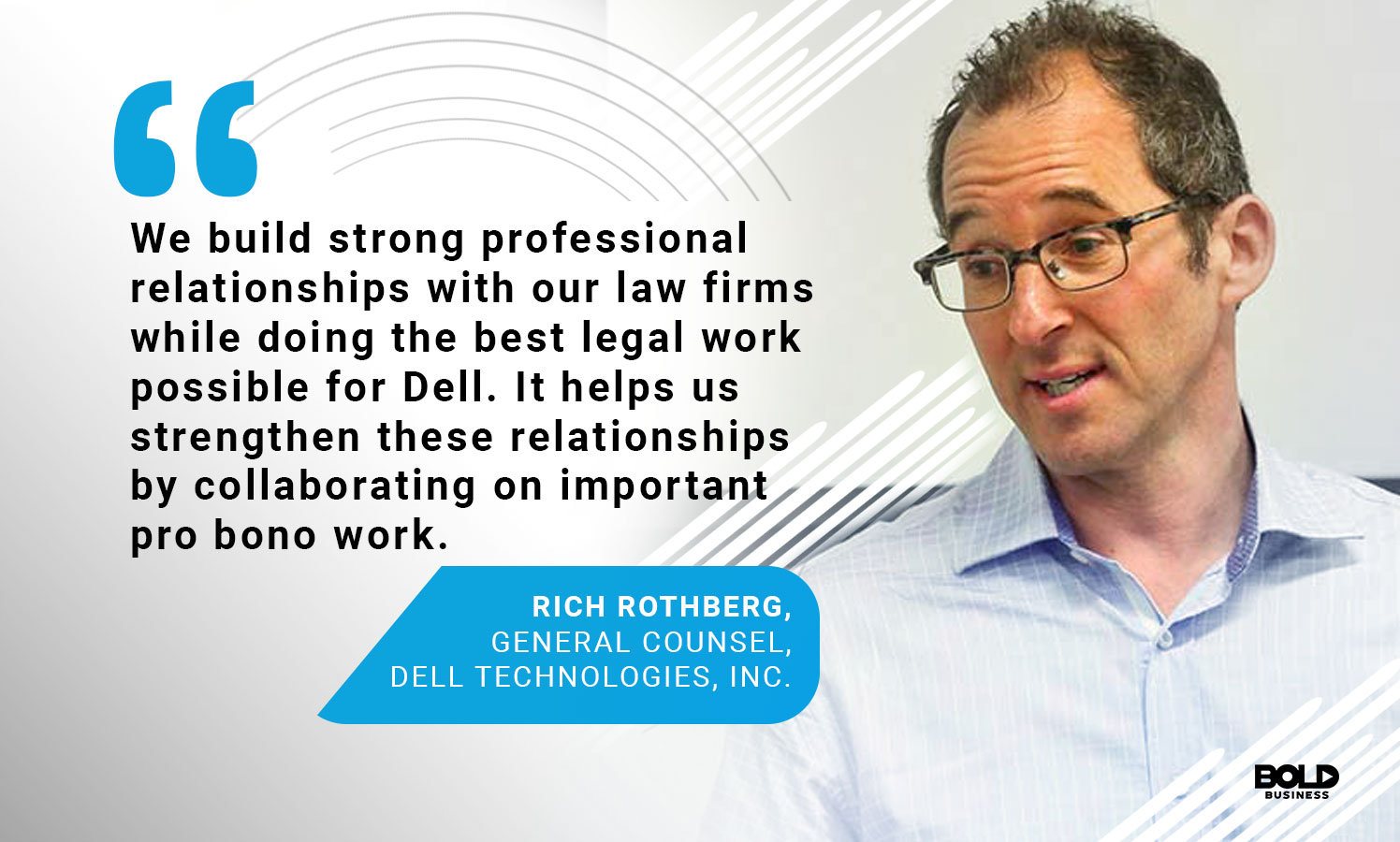 As part of Dell leadership, Richard Rothberg has steered the company on an ethical path.