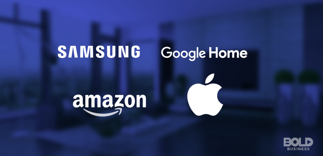 The sector leaders for smart appliances and smart home entertainment systems includes Samsung, Amazon, Apple and Google.