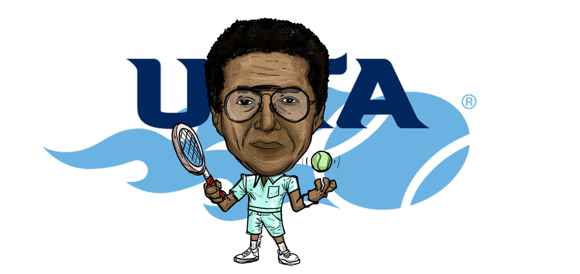 The Bold Impact of Arthur Ashe on the USTA and the Sport of Tennis