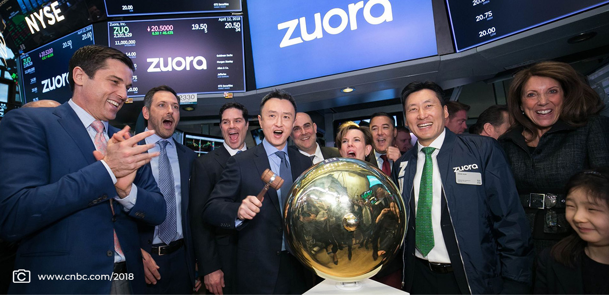 Tien Tzuo of Zuora has helped guide his company to success.