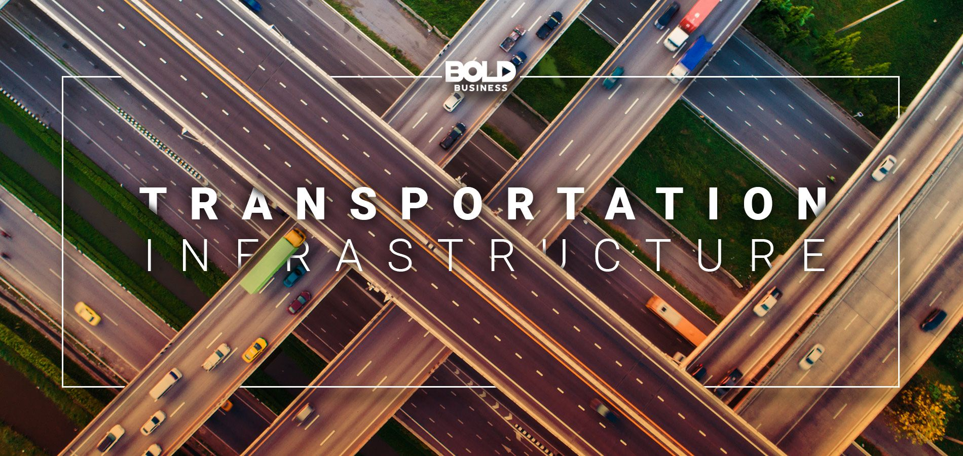 a photo of intersecting roads and bridges amidst the urgent need for sustainable transport solutions