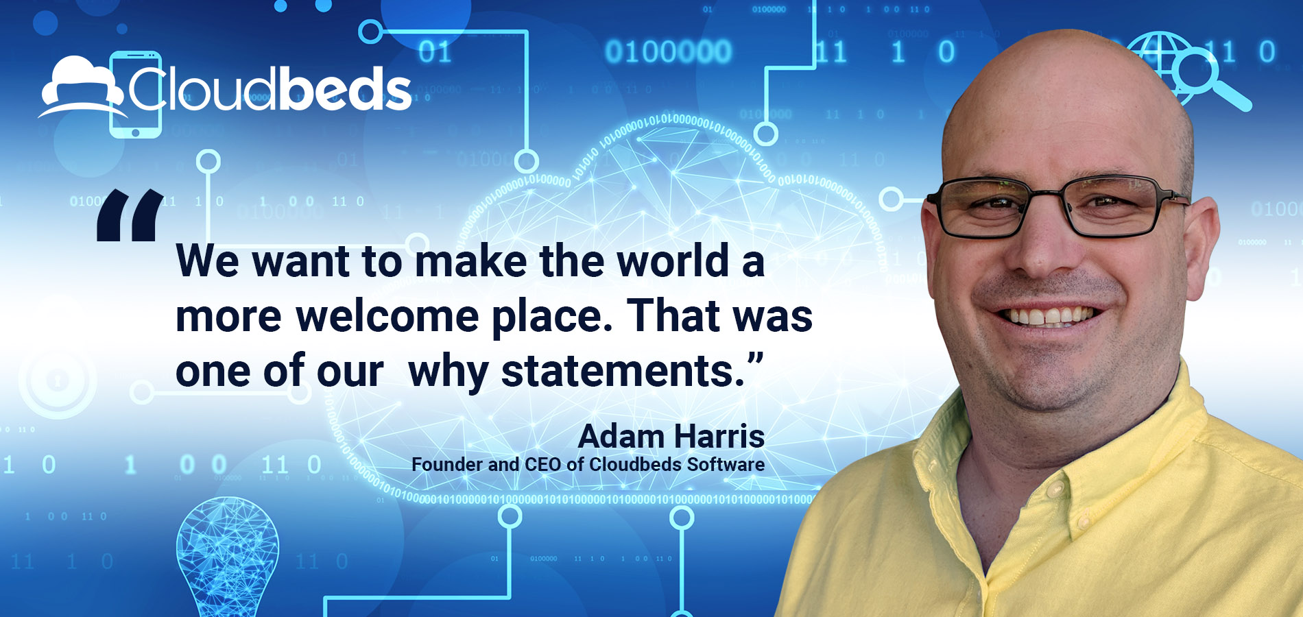 hotel management system, cloudbeds software ceo quoted