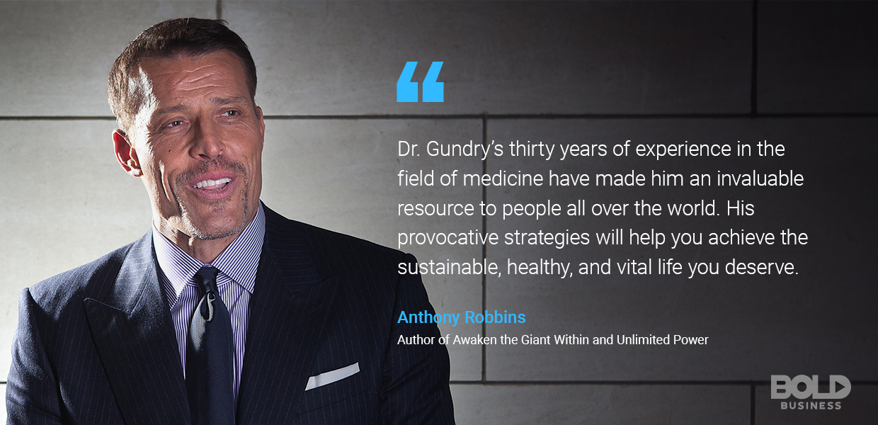 The Dr. Gundry diet has helped improve the diet-knowledge of the world.