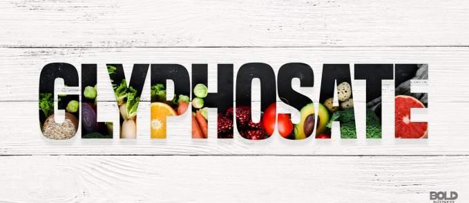 glyphosate in food supply