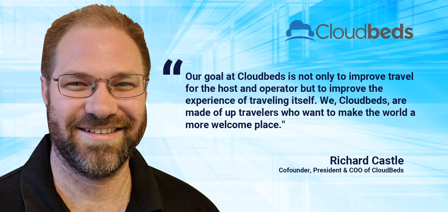 Richard Castle describes Cloudbeds Property Management Software