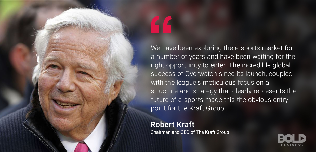 Quote from Robert Kraft