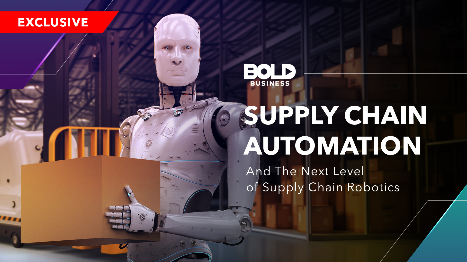 The 4th Industrial Revolution: Supply Chain Automation