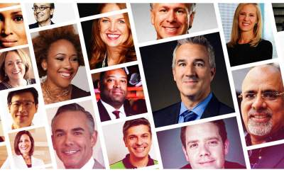 a photo collage of the different photos of Bold Business' list of the top chief marketing officers today