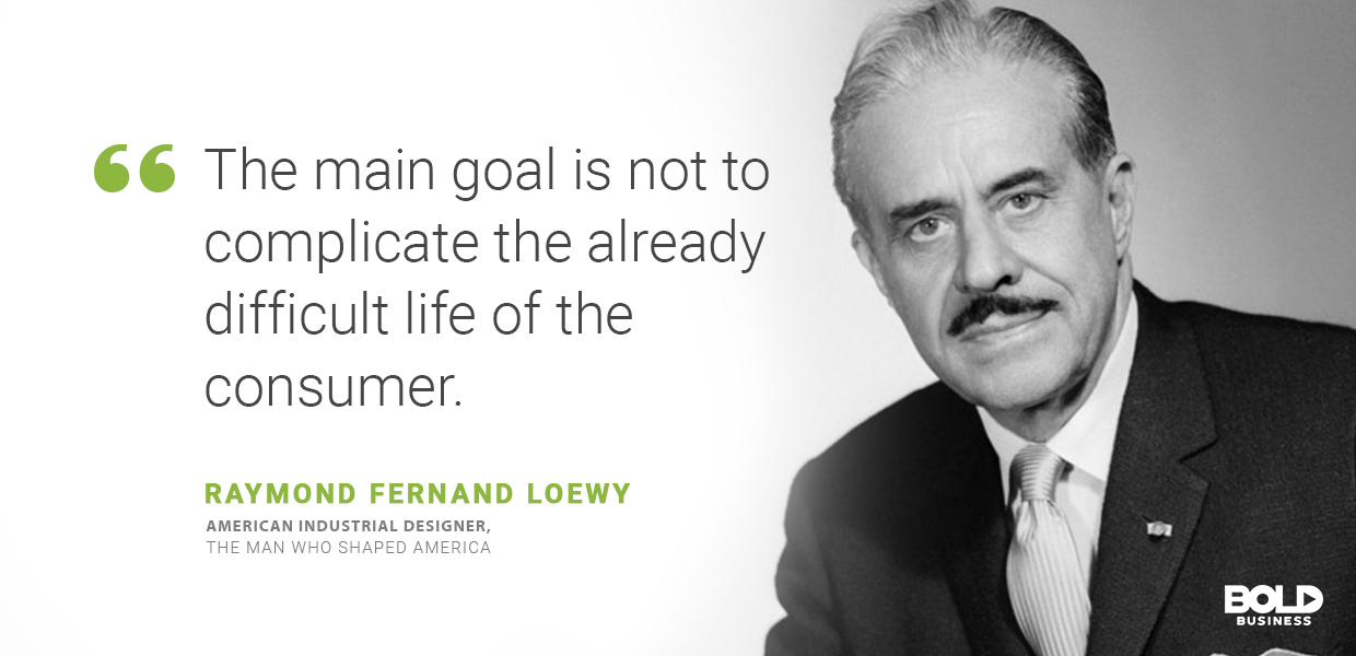 smart space technologies, raymond fernand loewy quoted