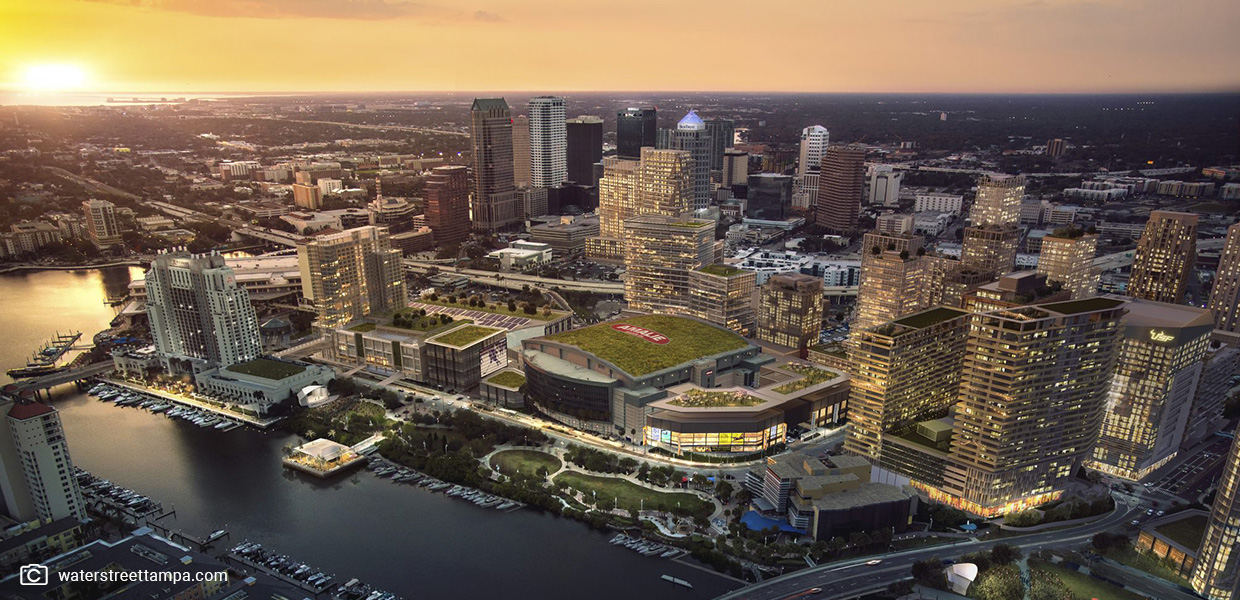 Of the current Tampa construction projects, Water Street Tampa stands to change the city the most.