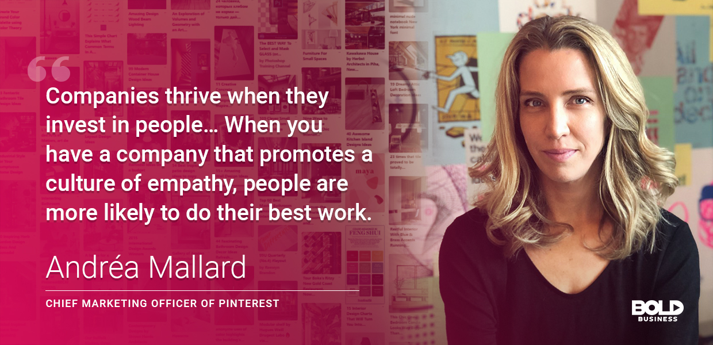 bold leader Andrea Mallard