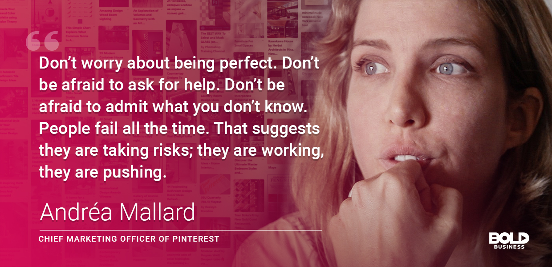 Andrea Mallard's leadership style is bold.