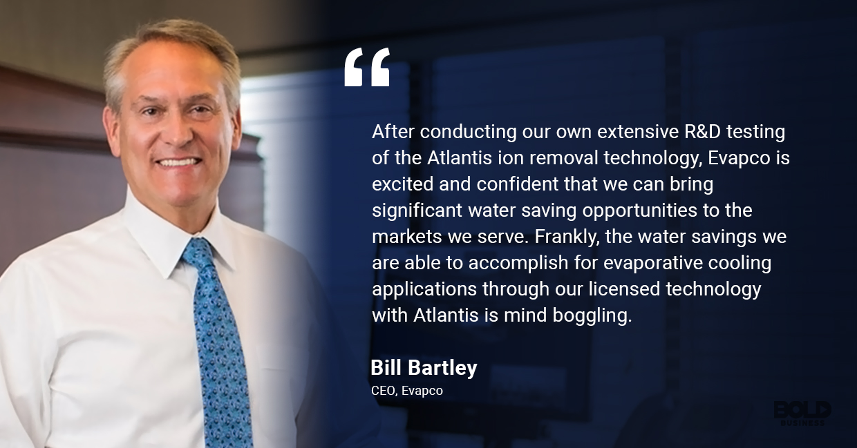 Bill Bartley talking about Atlantis Technologies