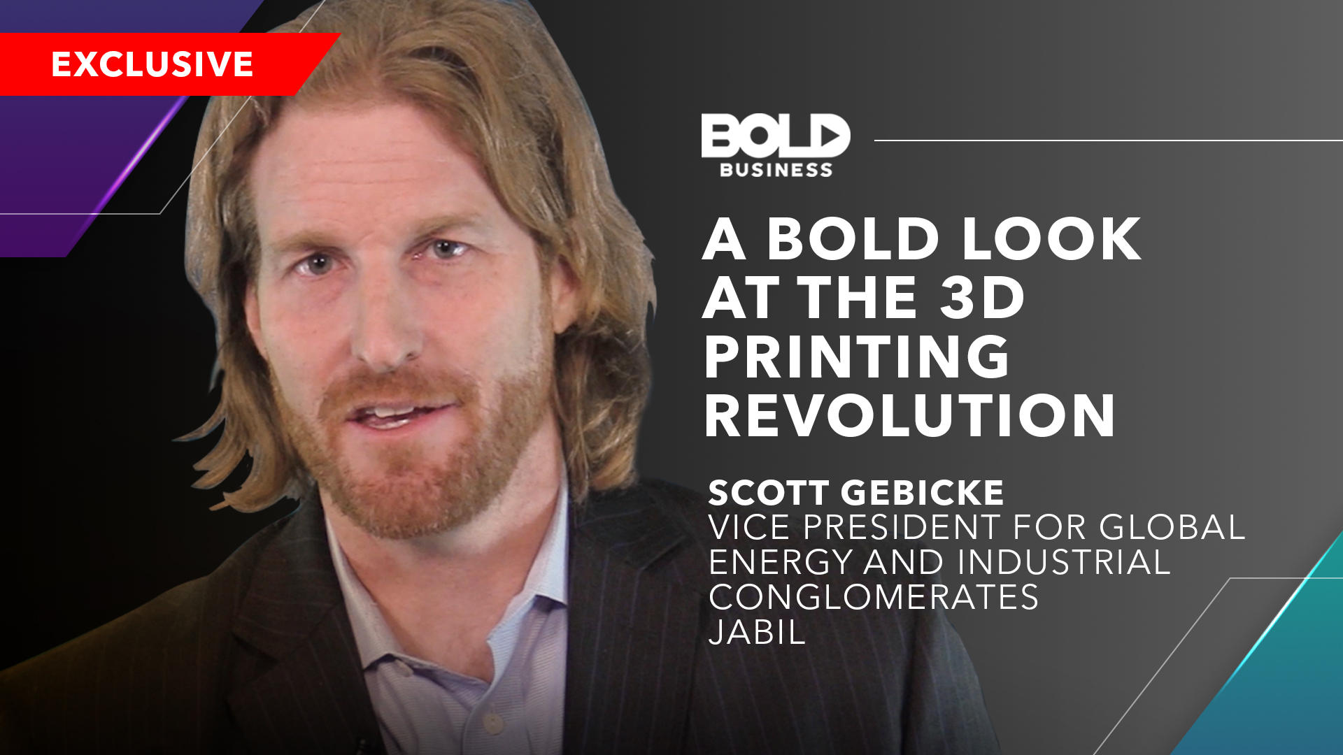 Bold Look at the 3D Printing Revolution