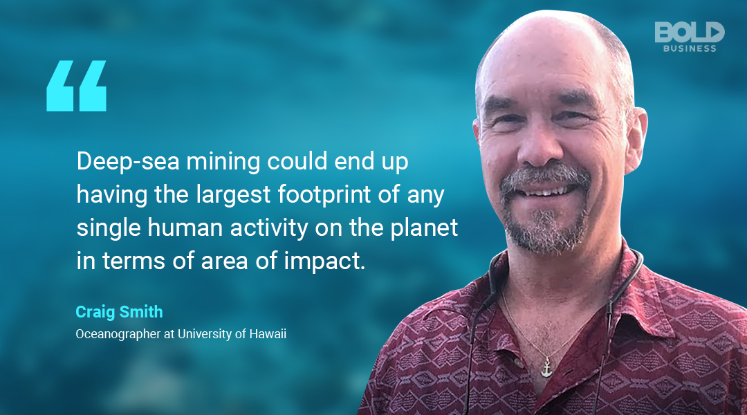 ocean minerals, craig smith quoted