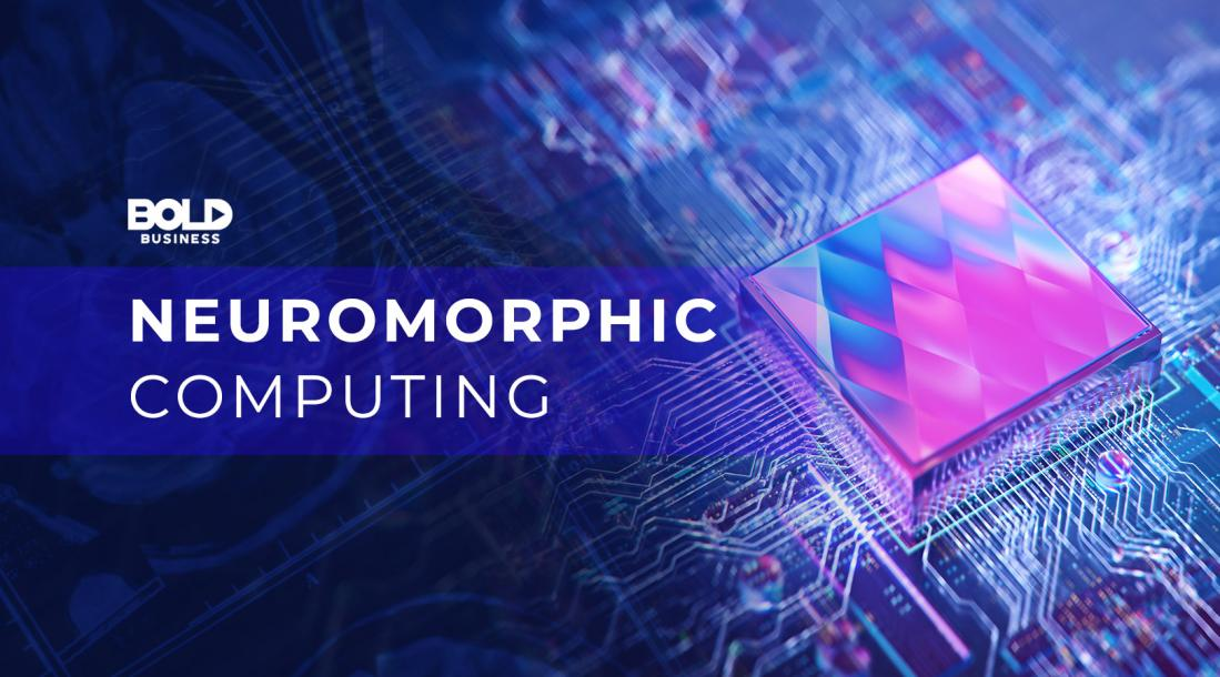 a photo of a neuromorphic computing material that looks like one of the brain chips available today