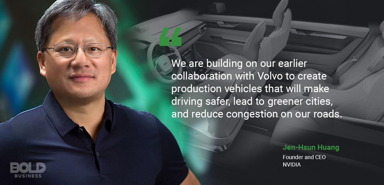 self-driving vehicles, jen-hsun huang quoted