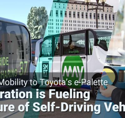 Collaboration is Fueling the Future of Self Driving Cars