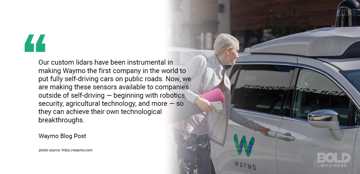 future public transportation, waymo quoted