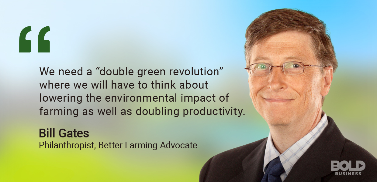 indoor agriculture, bill gates quoted