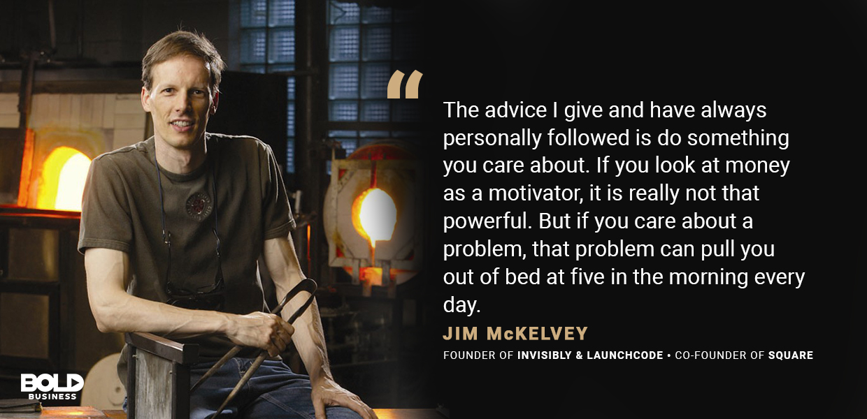 jim mckelvey quote about  perseverance and diligence