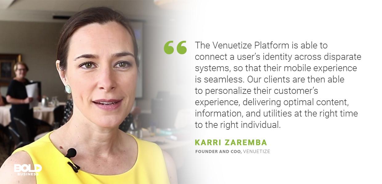 smart space solutions, Karri Zaremba quoted