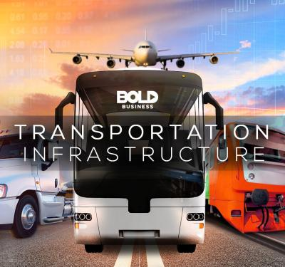 importance of transportation in economic development, image of different vehicles