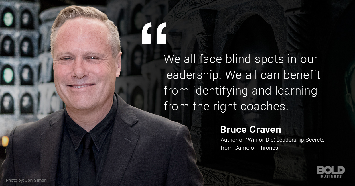 Bruce Craven teaches Leadership through Fiction