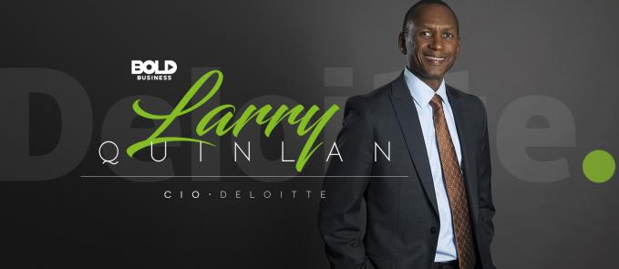Larry Quinlan is a bold leader.