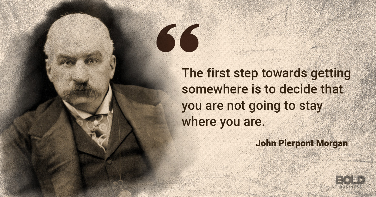 John Pierpont Morgan quoted