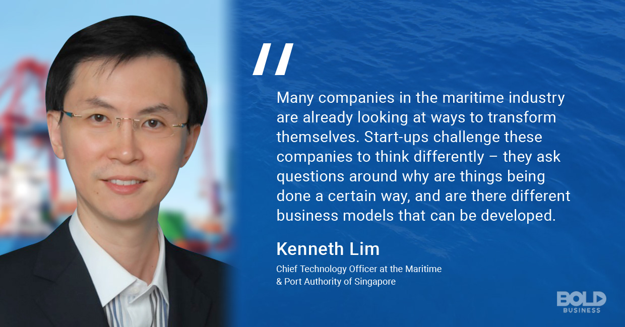maritime trade, kenneth lim quoted