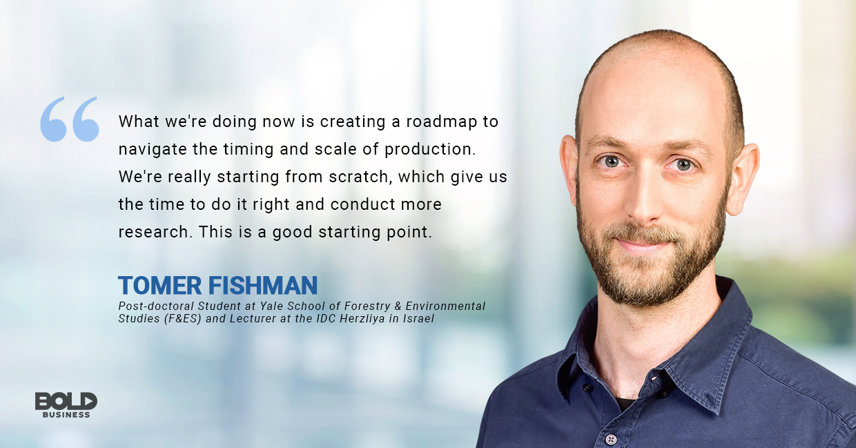 advantages of wind power, tomer fishman quoted