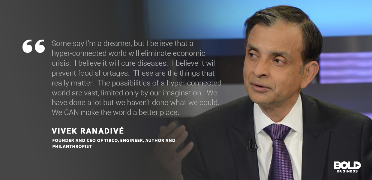industrial revolution 4.0, vivek renadive quoted
