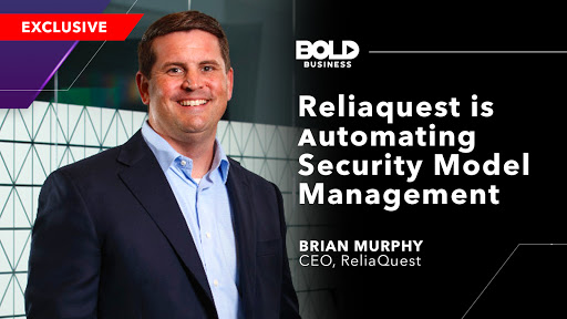 photo of Brian Murphy in relation to how Reliaquest is automating security model management