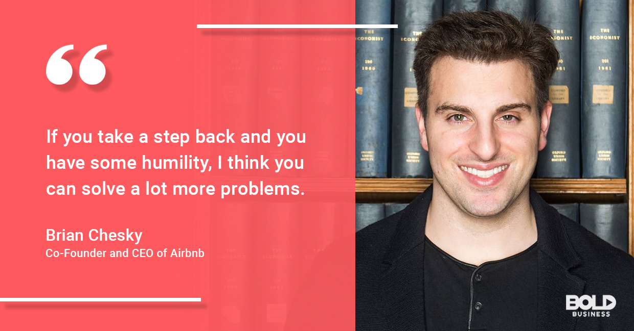 brian chesky shares airbnb leadership style