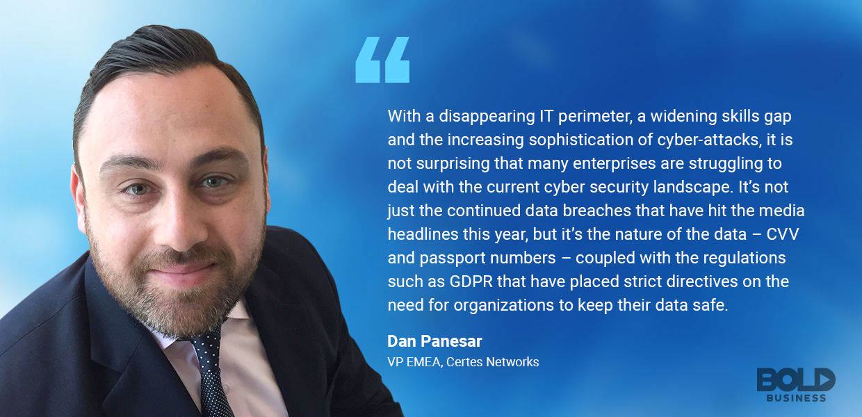 Dan Panesar talks cyber security