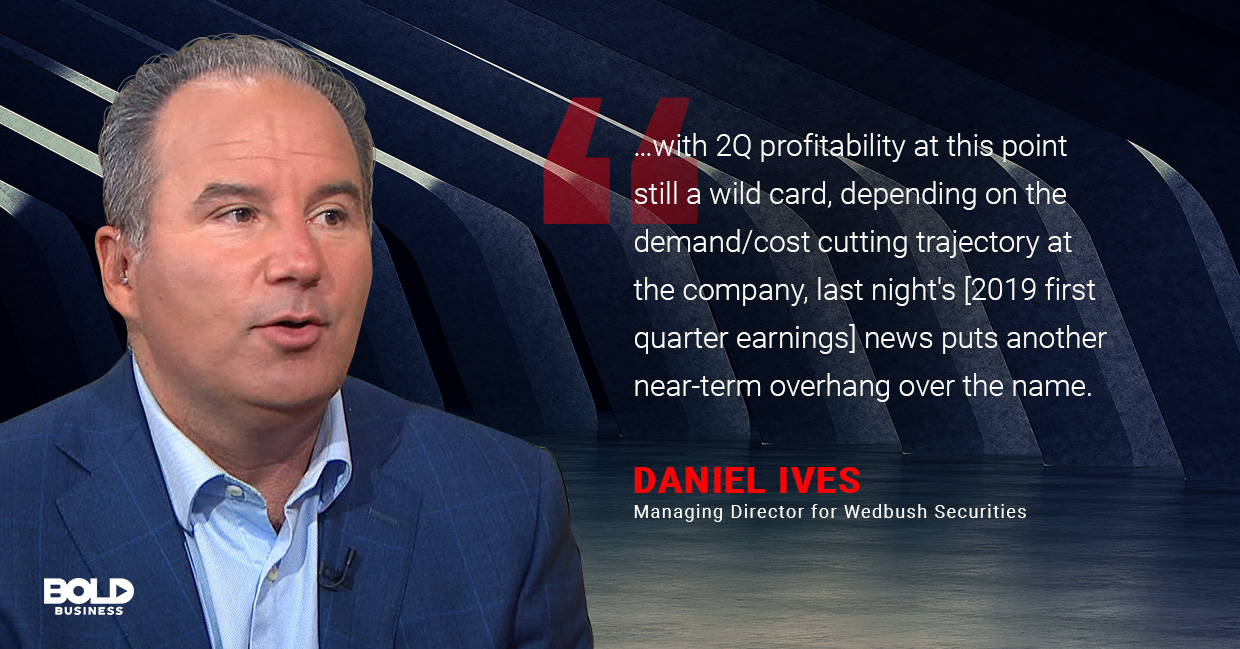 Daniel Ives - Managing Director for Wedbush Securities