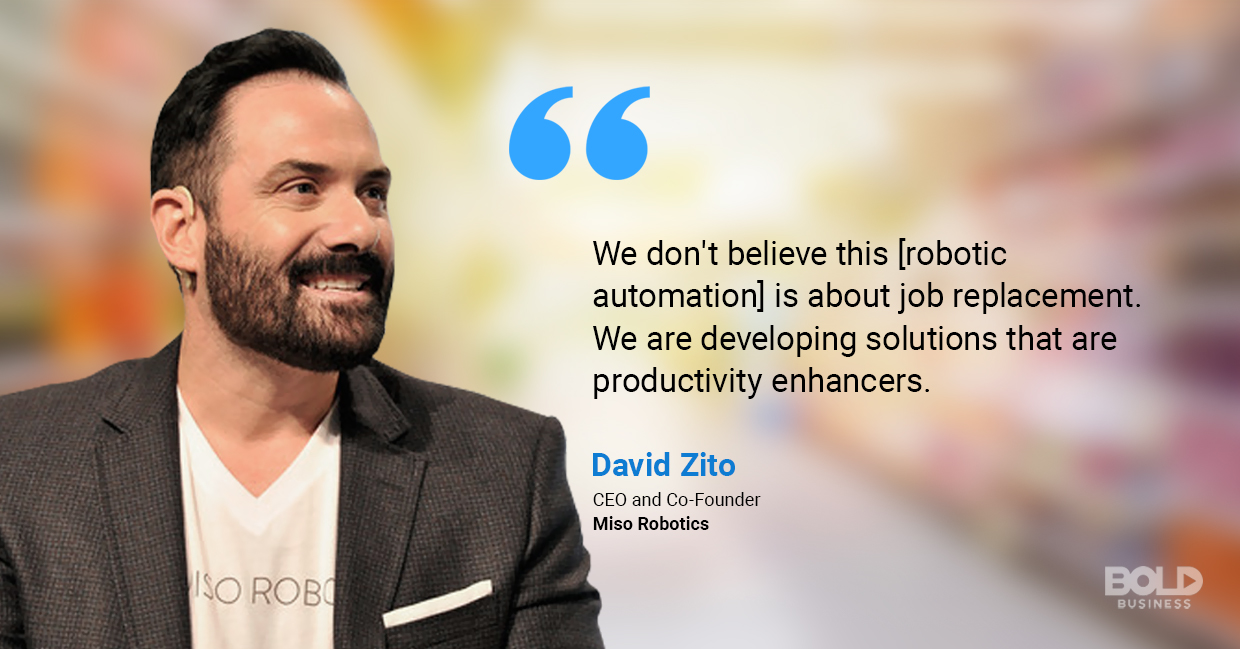 david zito's qoute on robotic workforce