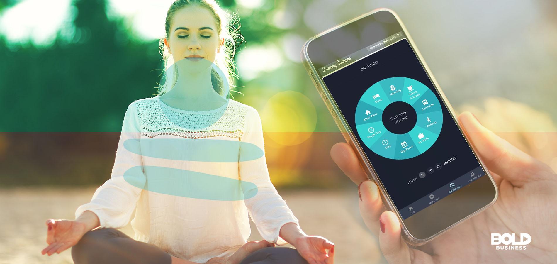 Simple Habit meditation is digital based