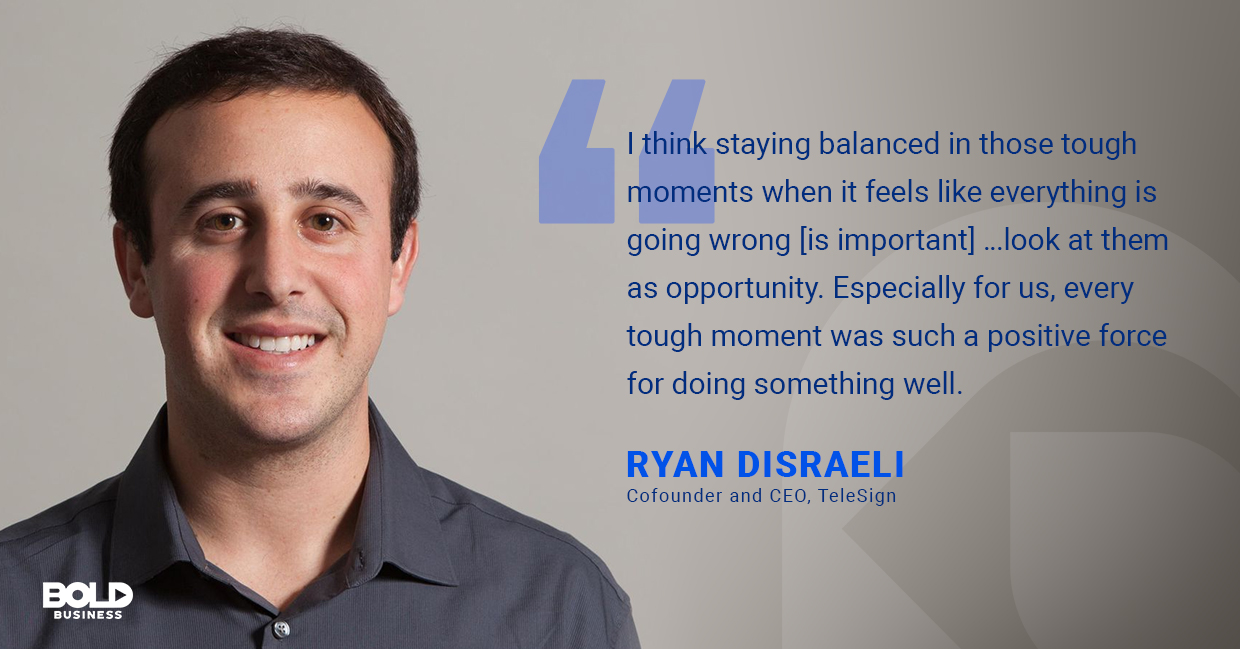 ryan disraeli on positivity