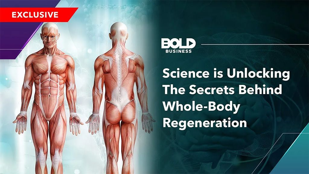 Video Thumbnail of Science is Unlocking The Secrets Behind Whole Body Regeneration