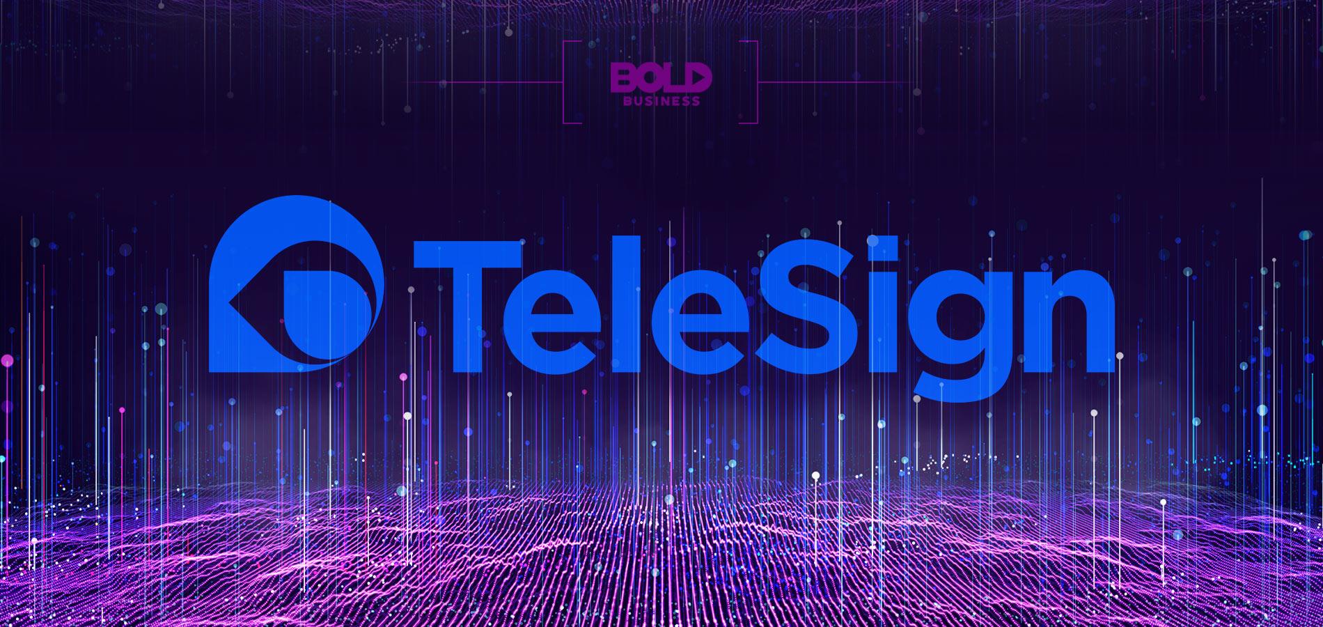 telesign banner logo