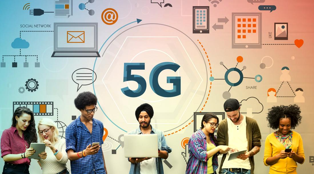5G technology entering the world