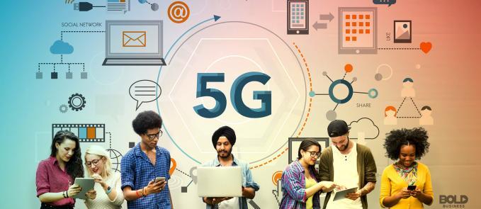 5G technology entering the world