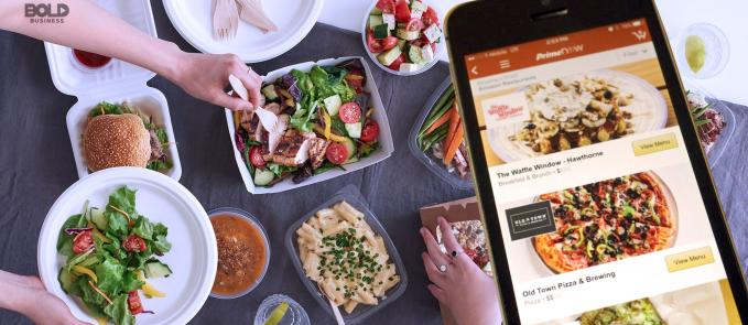Food delivery companies are numerous