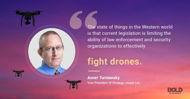 Vorpal exec talking drones.