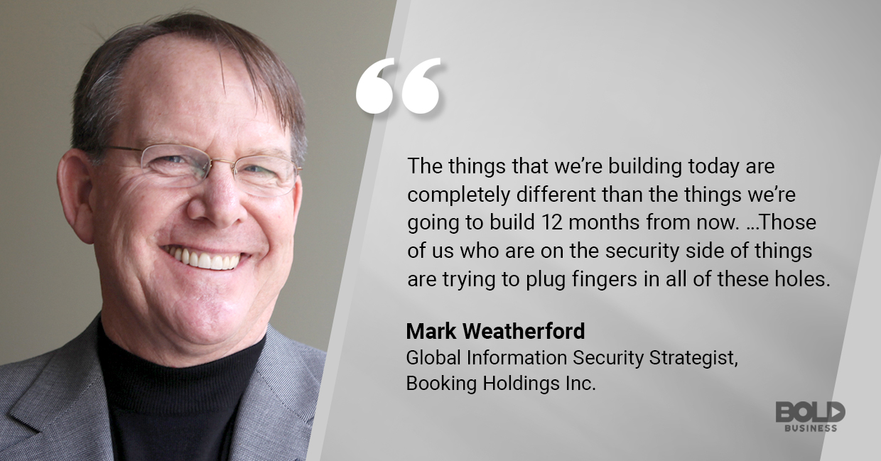 Mark Weatherford talks about ever-changing cybersecurity industry