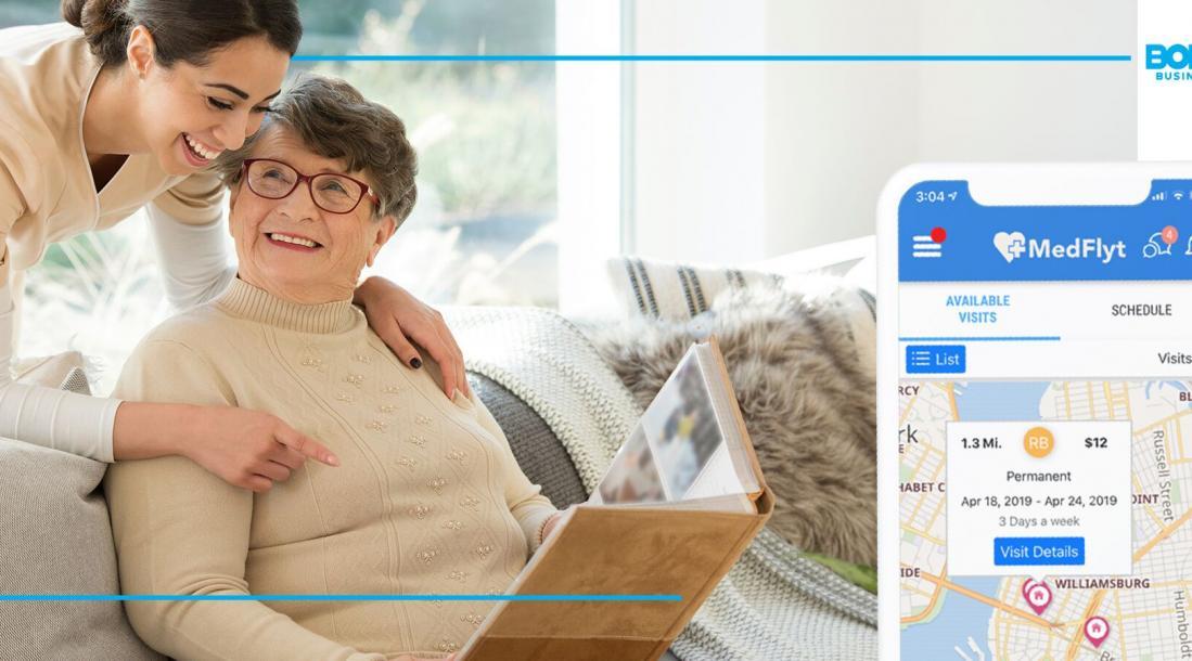 medflyt the best home health care app